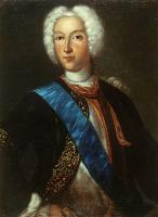 Иоганн Генрих Ведекинд. Портрет Петра II