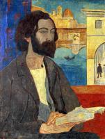 Paul Sulzier. Portrait of Bernard in Florence
