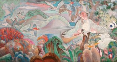 Анри Клеман-Серво. Птичий рай
