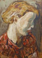 Альбин Амелин. Профиль женщины