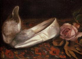 Ева Гонсалес. Белая обувь