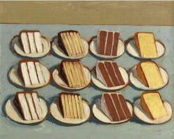 Wayne Thibaut. Slices of cake