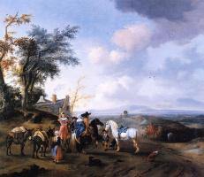 Питер Воуверман. Пейзаж