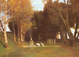 Arnold Böcklin. Sacred grove