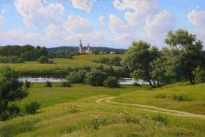 Boris Andreevich Shcherbakov. Landscape
