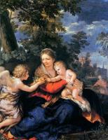 Пьетро Да Кортона. Божья Матерь с младенцем