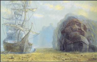 Отто Фрелло. Корабль