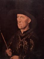 Ян ван Эйк. Портрет Бодуэ де Ланой