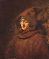 Рембрандт Харменс ван Рейн. Портрет Титуса в одежде монаха