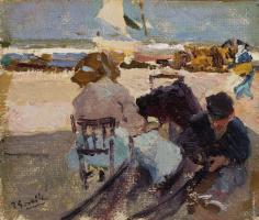 Хоакин Соролья (Соройя). Пляж в Валенсии