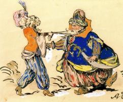 Александр Николаевич Бенуа. Восточные костюмы