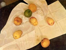 Леонид Терентьевич Чупятов. Яблоки и лимон