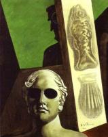 Джорджо де Кирико. Портрет Гийома Аполлинера