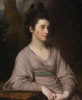 George Romney. Portrait of Miss Kirkpatrick