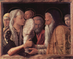 Андреа Мантенья. Христос в храме