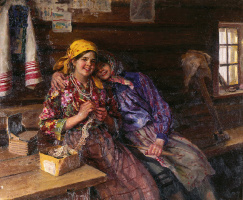 Fedor Vasilyevich Sychkov. Girlfriends 1930