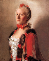 Жан-Этьен Лиотар. Портрет дамы при дворе