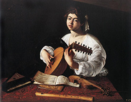 Микеланджело Меризи де Караваджо. Лютнист