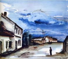 Морис де Вламинк. Облака
