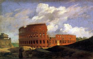 Ашиль Этна Мишаллон. Вид Колизея в Риме