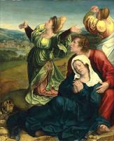 Бернард ван Орлей. Святые жены и святой Иоанн Богослов