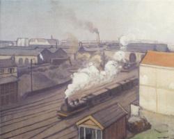 Альбер Марке. Железнодорожный вокзал в Монпарнасе