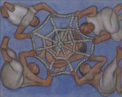 Диего Мария Ривера. Эскиз потолочной фрески