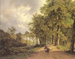 Баренд Корнелис Куккук. Прогулка по лесу