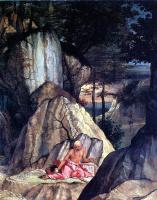 Лоренцо Лотто. Святой Иероним в пустыне