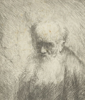 Ян Ливенс. Старец с длинной бородой