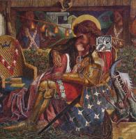 Данте Габриэль Россетти. Свадьба святого Георгия и принцессы Сабры