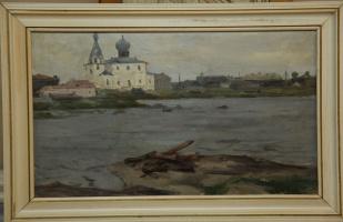 Борис Александрович Булкин. Каменная церковь в Кеми