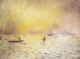 Pierre-Auguste Renoir. View of Venice, fog