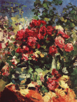 Konstantin Alekseevich Korovin. Roses