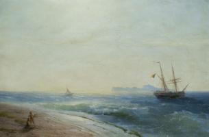 Ivan Aivazovsky. The Island Of Capri