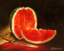Alina Kuznetsova. Watermelon