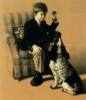 Стоун Робертс. Мальчик с собакой