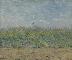 Винсент Ван Гог. Пшеничное поле с жаворонком