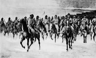 Фредерик Ремингтон. Армия в Пайн-Ридж