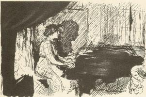 Макс Швабинский. За фортепиано