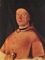 Лоренцо Лотто. Епископ Бернардо