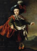 Dmitry Grigorievich Levitsky. Portrait Favst Petrovich Makarovskogo in costume
