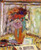 Пьер Боннар. Ваза с цветами