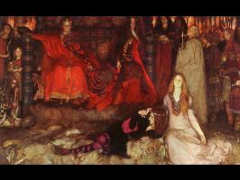 Эдвин Остин Эбби. Сцена из Гамлета