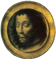 Дирк Баутс. Копия. Блюдо. Голова Иоанна Крестителя.  ок.1500