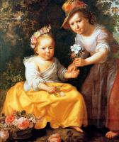 Паулюс Морелсе. Portrait of two children
