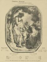 Луи Анкетен. Театральная программа. 1898