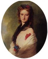Франц Ксавер Винтерхальтер. Портрет Софии Потоцки,  графини Замойской