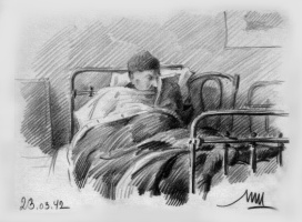 Модест Анатольевич Шепилевский. Архитектор Л. А. Ильин, 23-03-1942.
