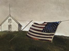 Эндрю Уайет. Флаг битвы